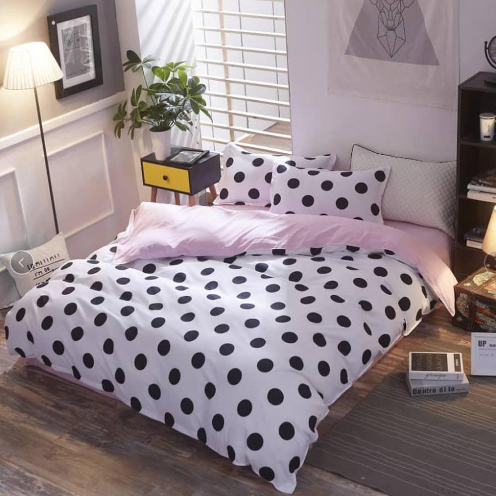 polka dot bedspread