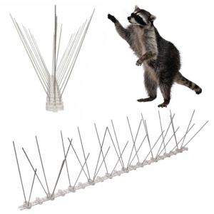 spikes for raccoons