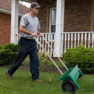 buy fertilize spreader walk behind usa