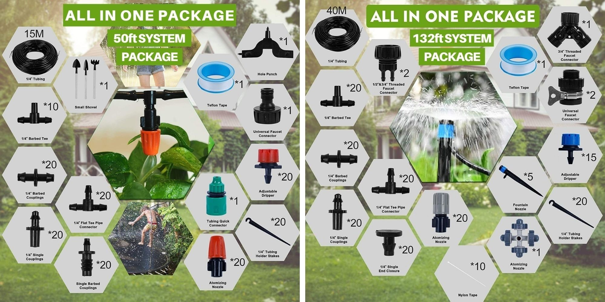 buying garden irrigation system for home