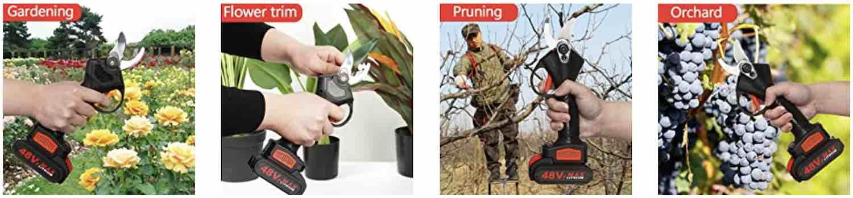 best cordless pruning scissors