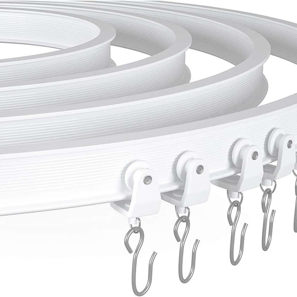 buy ceiling mounted curtain track kits