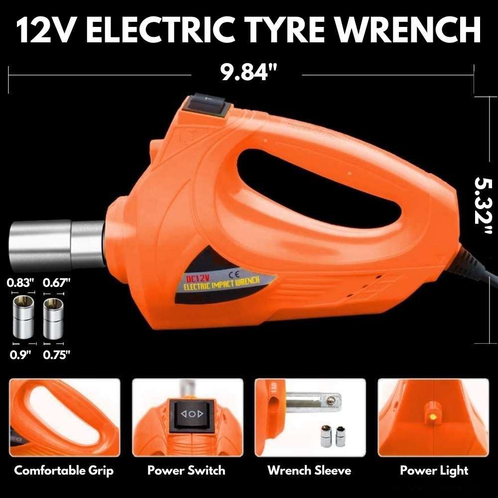 electric car tyre impact wrench