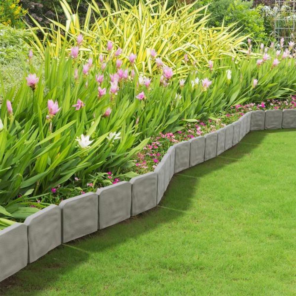 plastic stone garden edging buy online