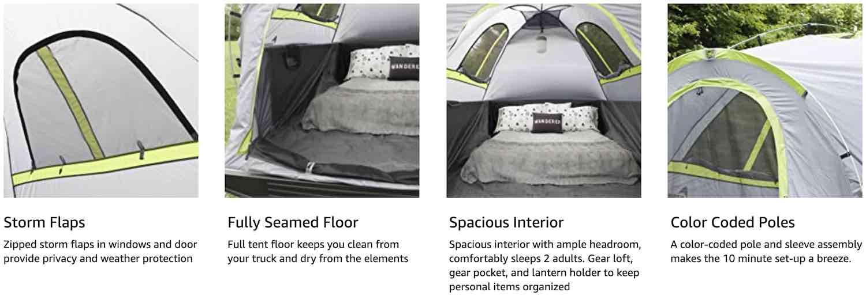 buy truck bed tent online
